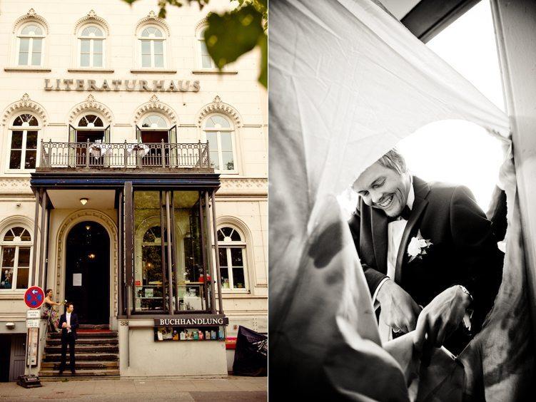 Hochzeit Hamburg - Literaturhaus Cafe
