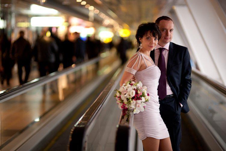 Hochzeit in Moskau