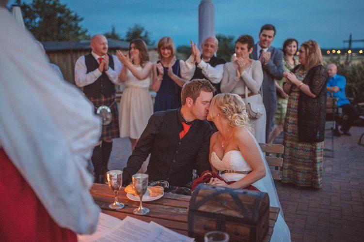 Schottische Hochzeit in Lübeck