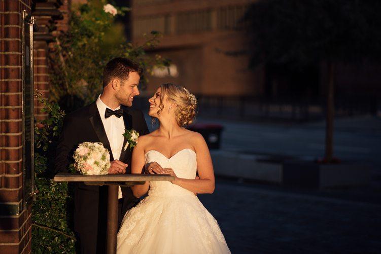 Hochzeit in der Hamburger Speicherstadt