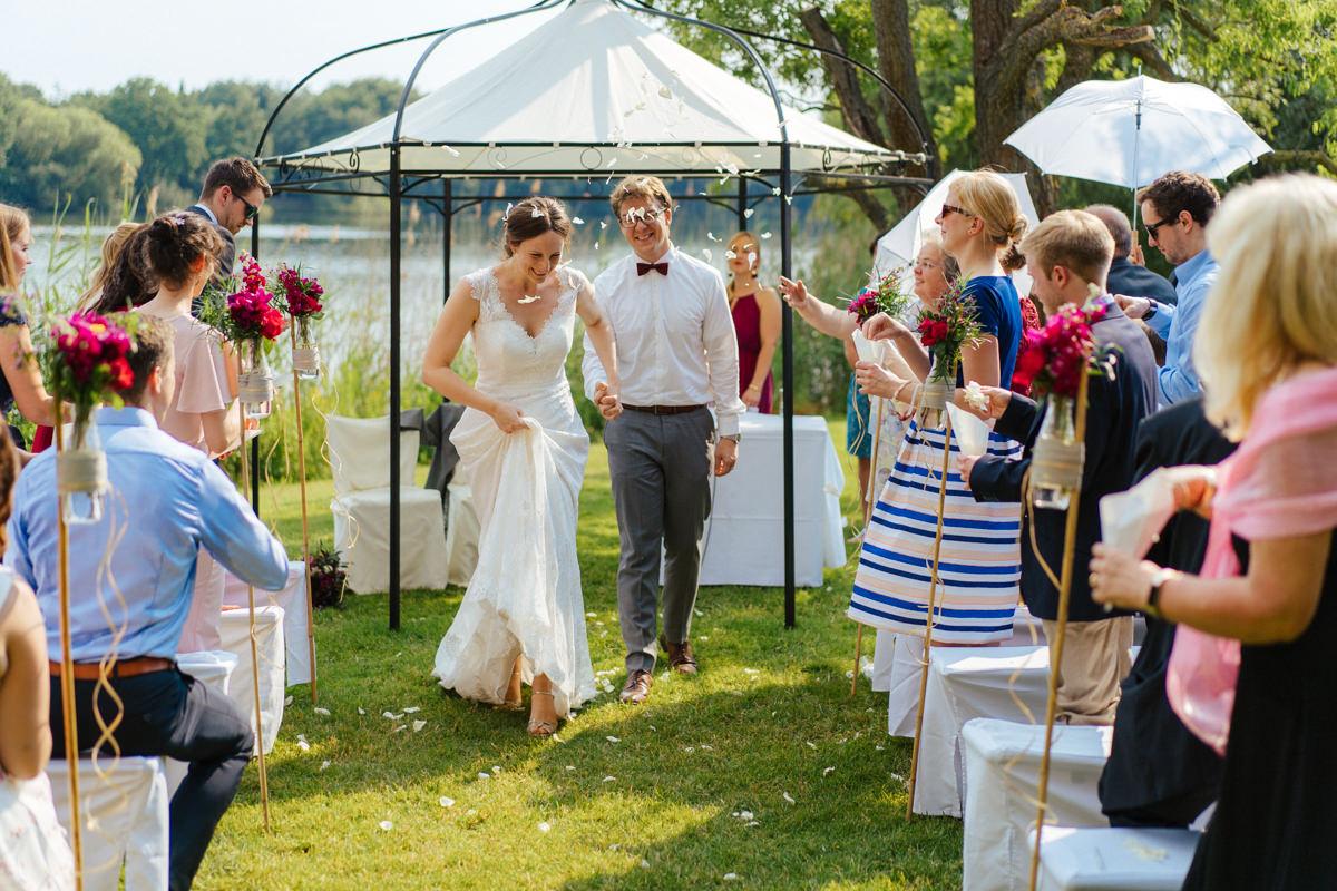 Hochzeit im Landhaus am See