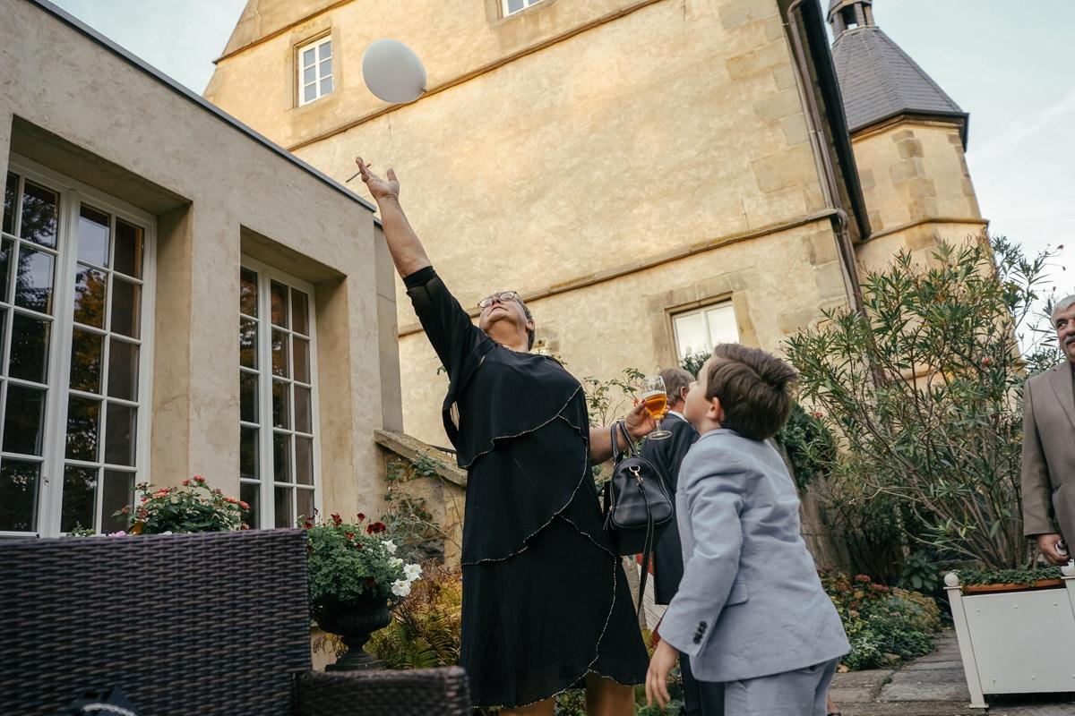 Hochzeit im Schloss von Hammerstein