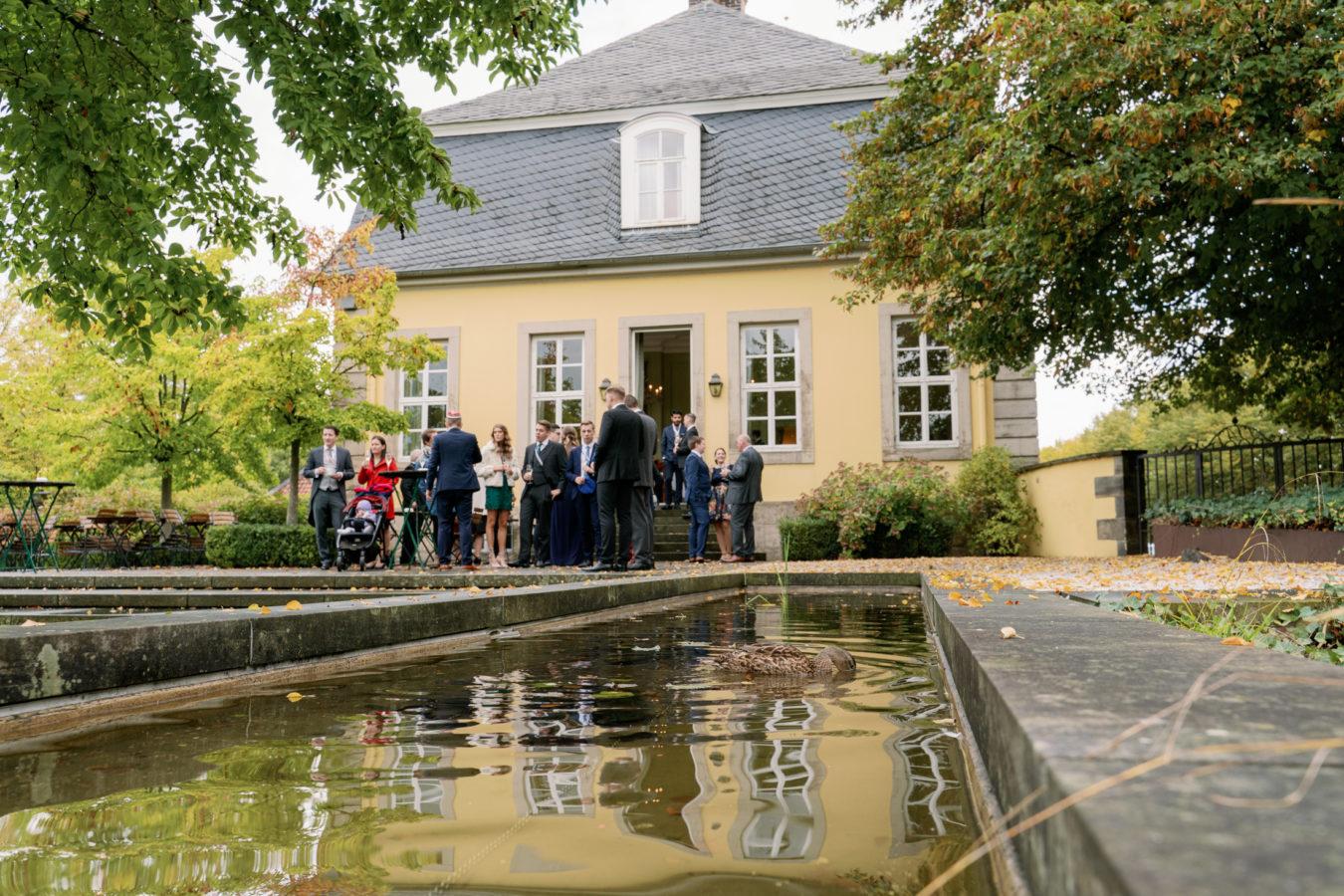 Hochzeit im Hardenbergschen Haus und in der Burg Königsworth